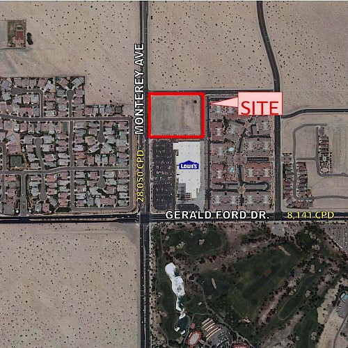 Land Available - Palm Desert