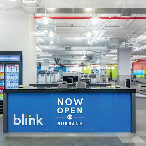 Blink Fitness Open in Burbank