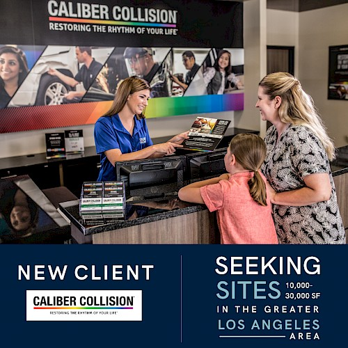 New Client - Caliber Collision