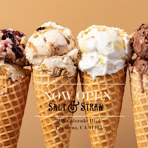 Salt & Straw open in Pasadena