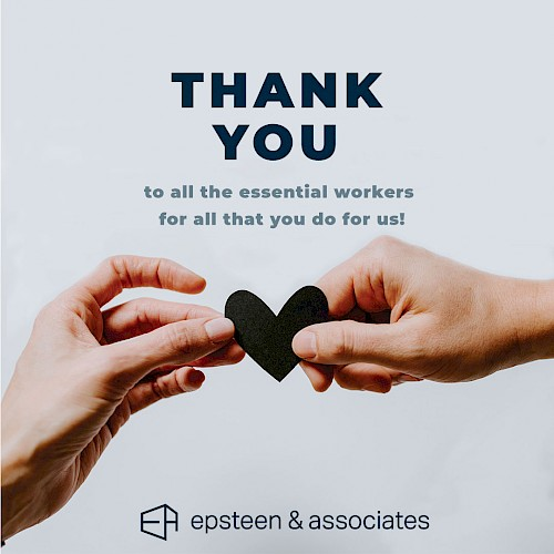 Thank You To All Essential Workers