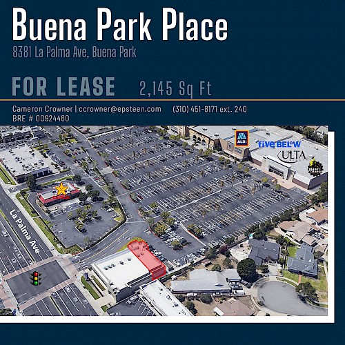 Buena Park Place - Space Available