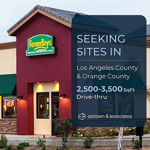 Farmer Boys - Seeking Sites in Los Angeles & Orange Counties