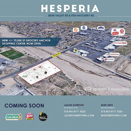 Coming Soon to Hesperia